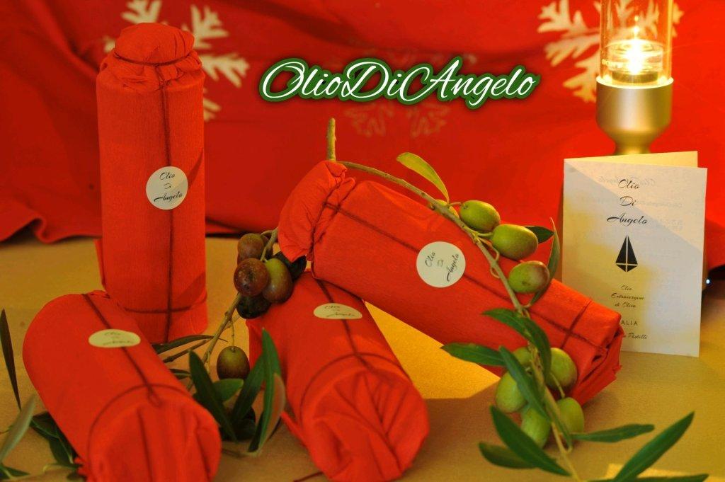 クリスマスセット 250㎖ 4本 プレミアム オリーブオイル